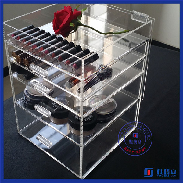 2016 Wholesale 5 Drawer Acrylic Makeup Organizer