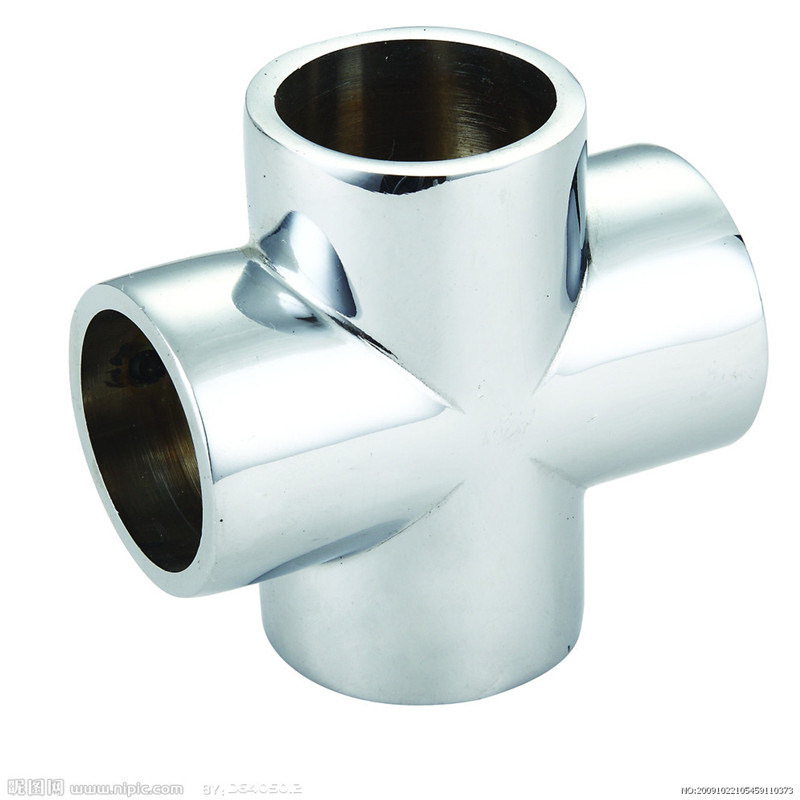 China carbon steel equal cross tee pipe fittings