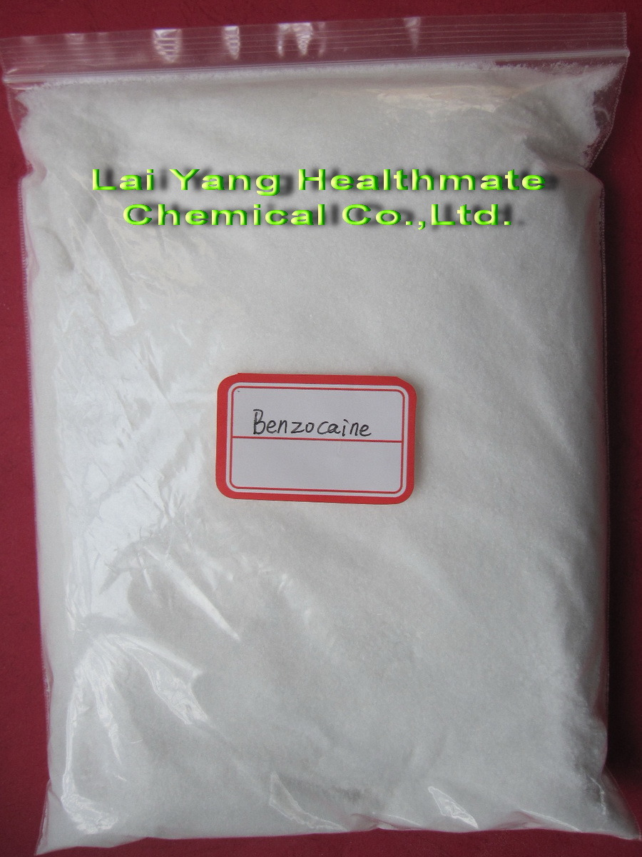 Benzocaine 99.9% Fast Safe to UK Anesthetic Powder Benzocaine (Mesh 40; Mesh200)
