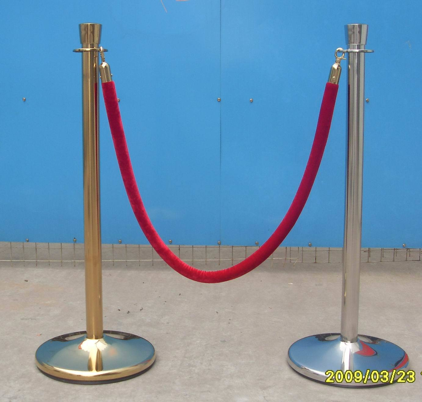 China Queue Line Stand Lg  E China Rope Barrier Crowd Control