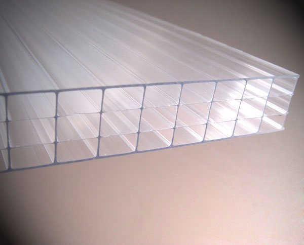 China Lexan Thermoclear Multiwall Structured Polycarbonate