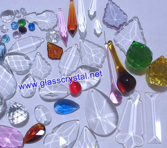 Chandelier crystals, chandelier crystal prisms, chandelier prism