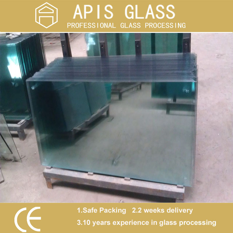 3-12mm Clear Float Heat Strength / Toughened /Safety/Furniture/Tempered Glass with Ce En12150 SGCC Ansiz 297