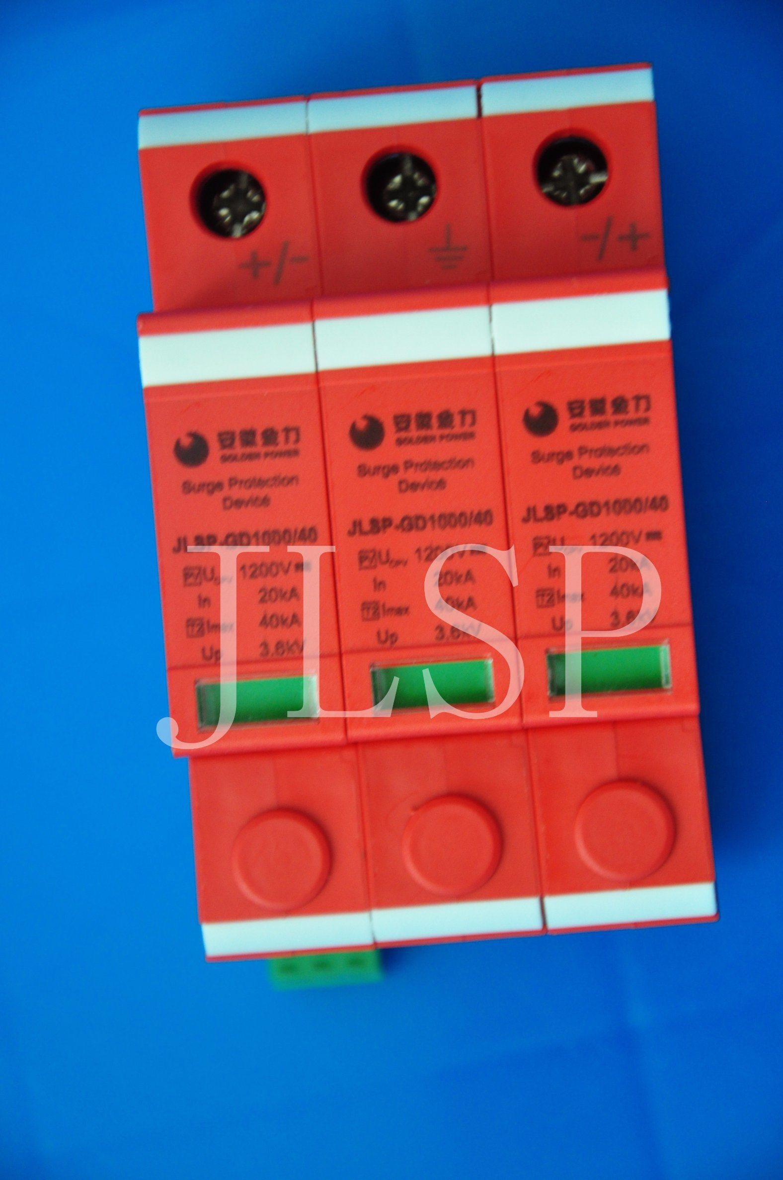 PV Application Solar 3p SPD/Surge Protector (GA754-27)