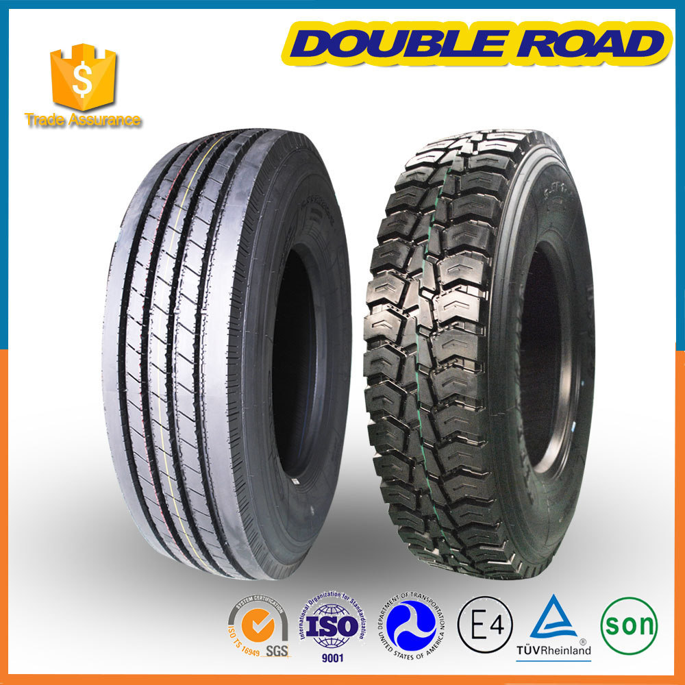 Doubleroad Heavy Duty Tubeless Radial Truck and Bus Tire 315 80 22.5