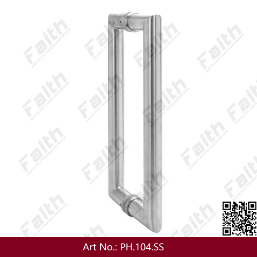 Staniless Steel Door Pull Handle (pH. 102. SS)