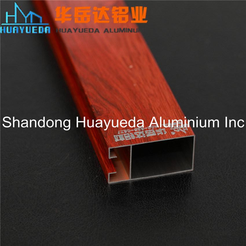 Wood Aluminium Profile/ Aluminium for Door/ Wood Aluminium Windows