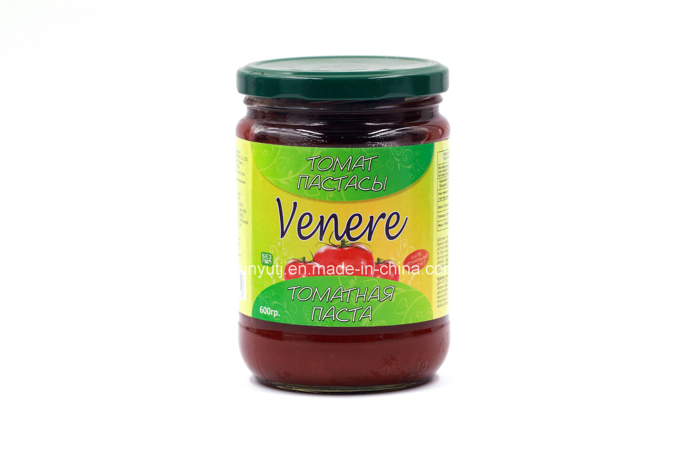 Tomato Paste in Glass Jar with High Quality