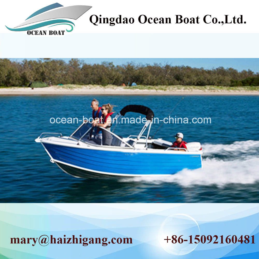 China 12FT 42m Runabout Aluminum Boats Fishing Use Pleasure Boat Ce Approved