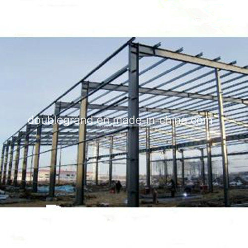 ISO9001 Standard Large Span Steel Structure Workshop/Warehouse Building