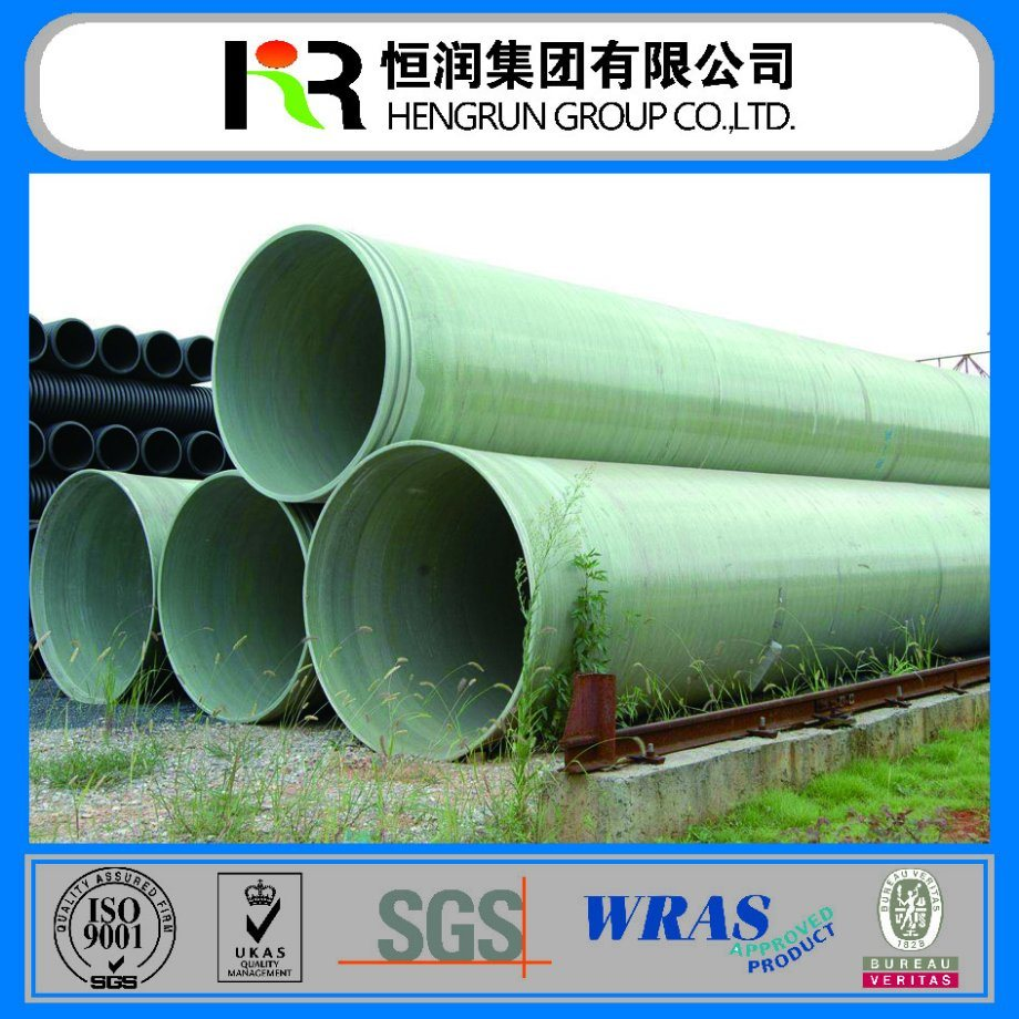 Well Saled Reinforced Fiberglass Pipe (DN100-DN4000)