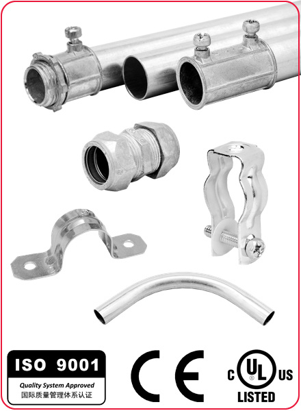 Zinc Flexible Conduit Squeeze Connector Angle Type