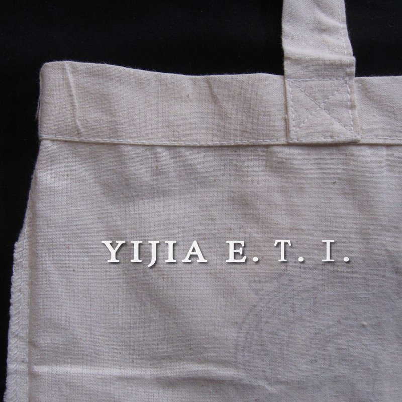 Eco Friendly Long Handle Standared Size Cotton Bag