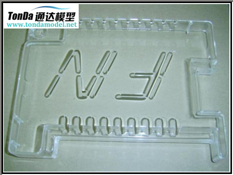High Quality Transparent PMMA, PC, Rarpid Prototypes CNC Machining Parts