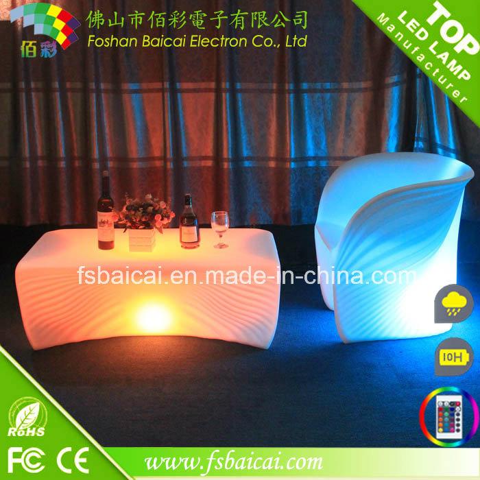 LED Illuminate Nightclub Table