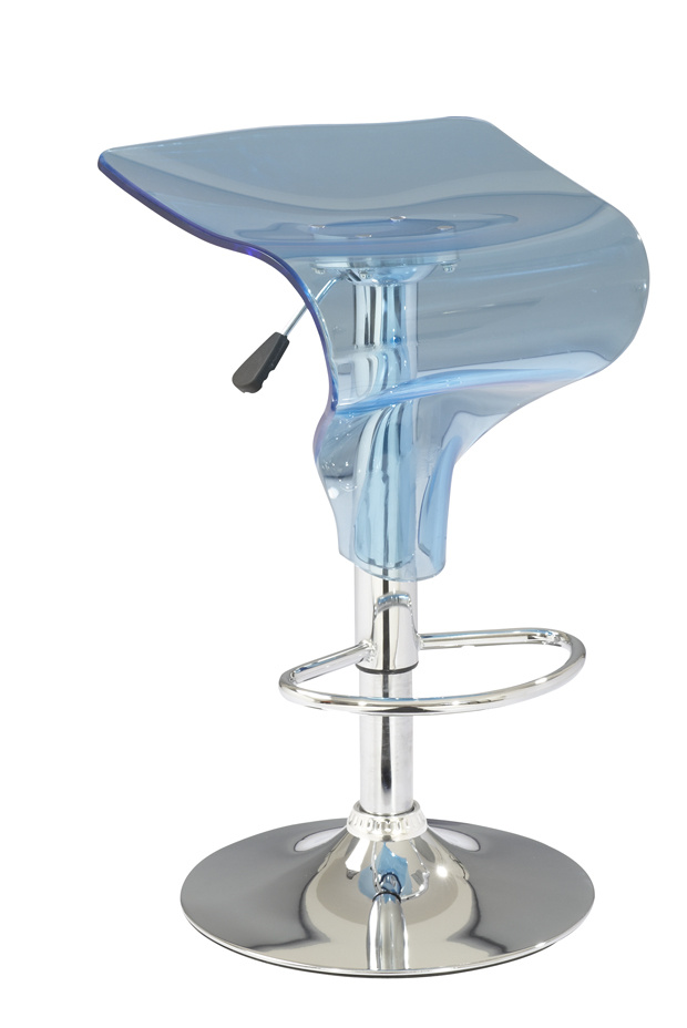 China Crystal Acrylic Blue Swan Bar Stool China Bar