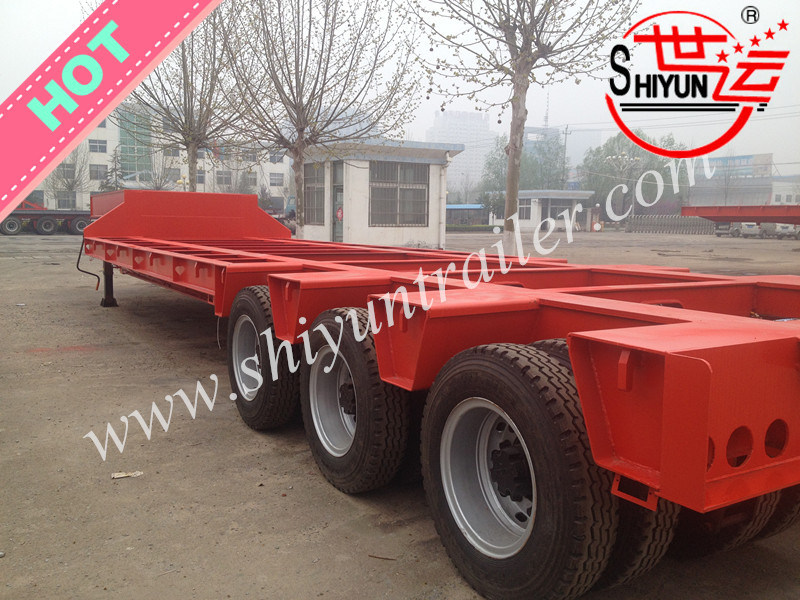 Semi Truck Flatbed Trailer Duty Semi Trailer Truck