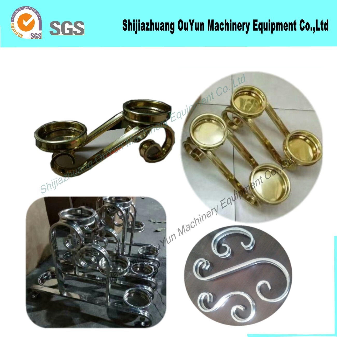Stainless Steel Hydraulic Bending Wrought Iron Machine of Iron Work