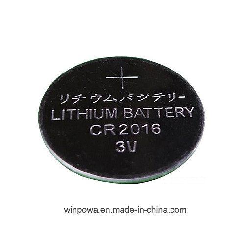 Cr2016 3V Lithium Button Cell Battery 5 Packs