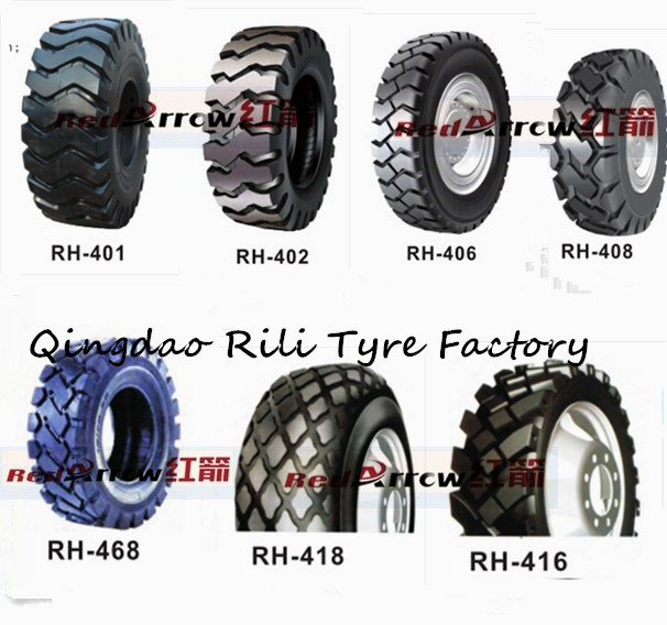 Nylon Industrial Tire, Bias Industrial Tire, 24 Inch Industrial Tyre (16.9-24 17.5L-24)
