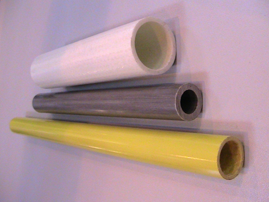China fiberglass hollow tube frp pipe