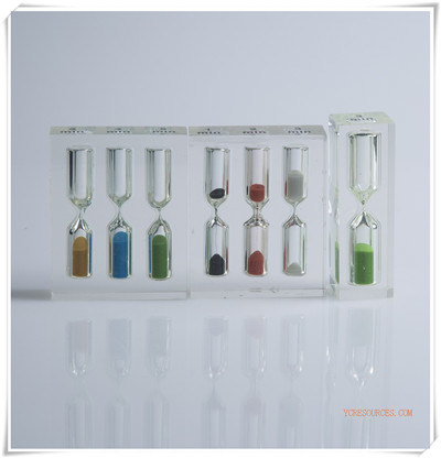 Acrylic Hourglasses Sand Timer Clock Promotional Gift Item (OI13001)
