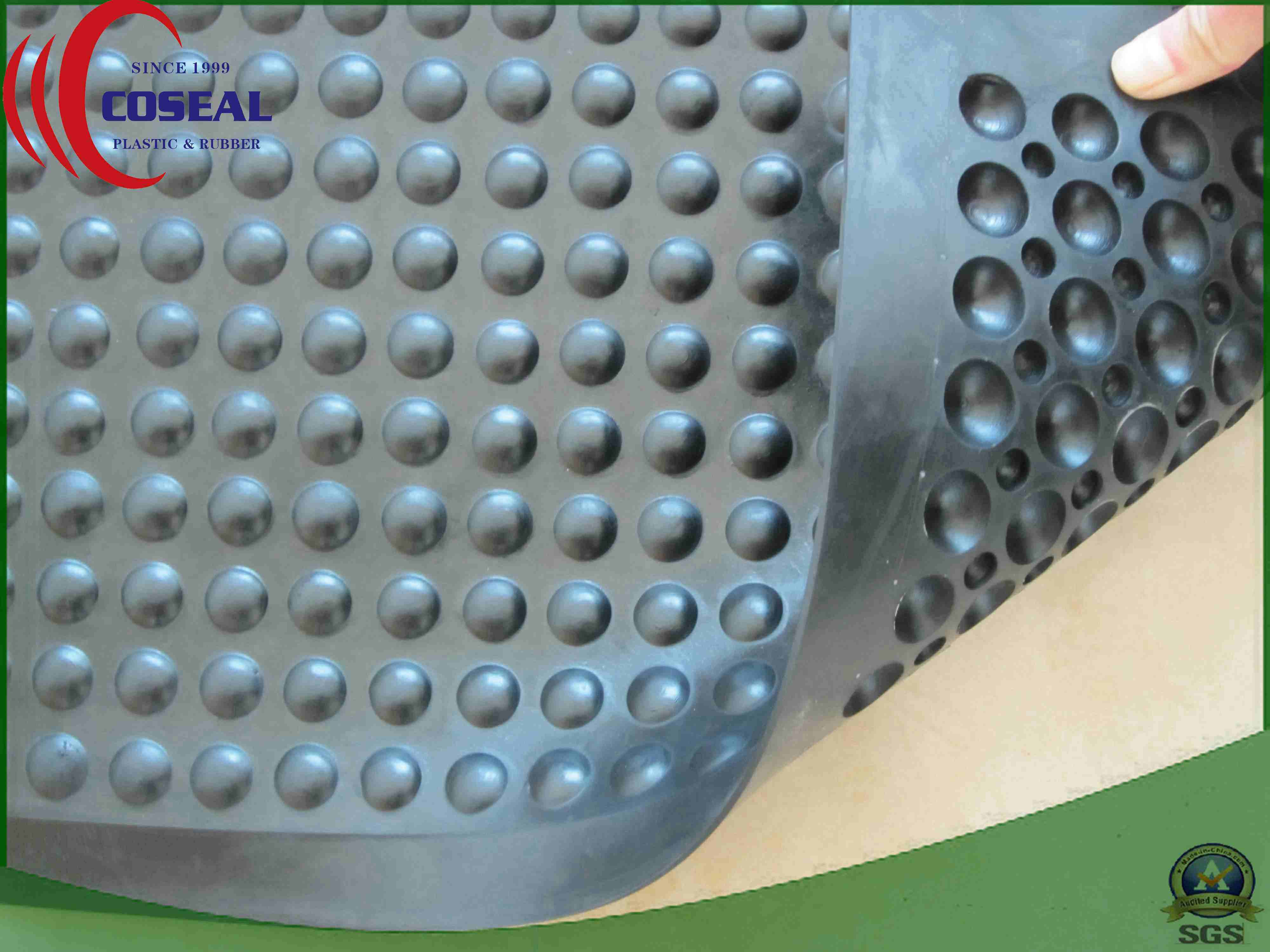 Diamond Tread Pattern Floor Mat for Floor