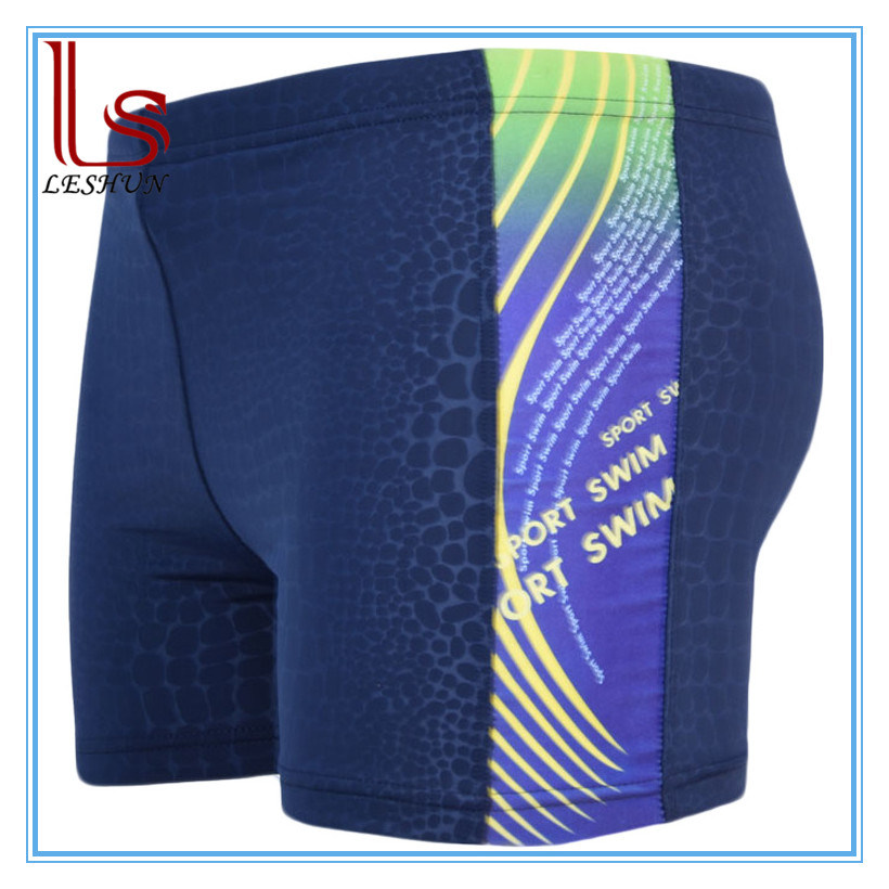 High Elasticity fashion Men′s Swimming Trunks