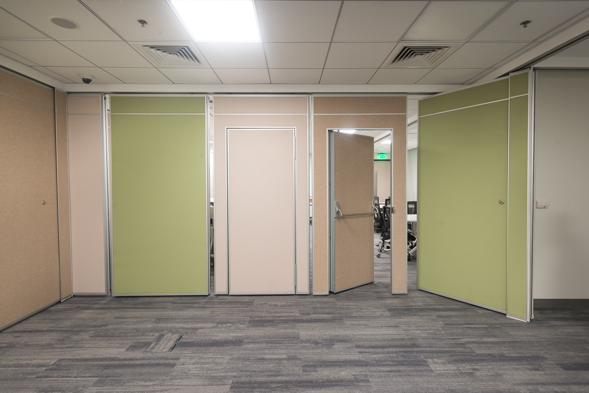 Soundproof Operable Partitions Wall for Hotel, Conference Hall, Multi-Purpose Hall