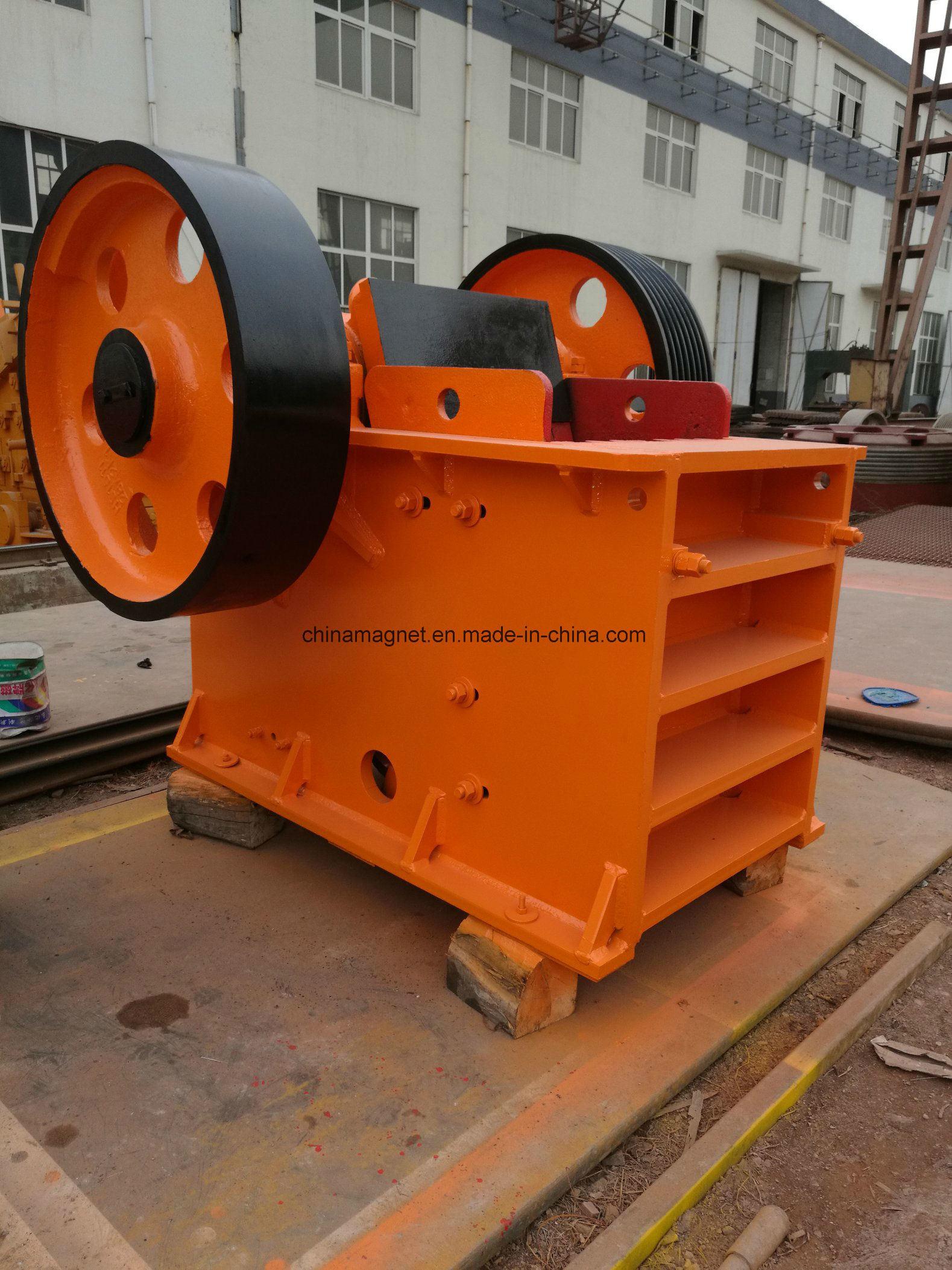 Advanced PE Jaw / Stone Crusher for Quarry/Construction /Limestone/Iron Ore/Mine Ore /Copper Ore/Gravity Primary Crushing