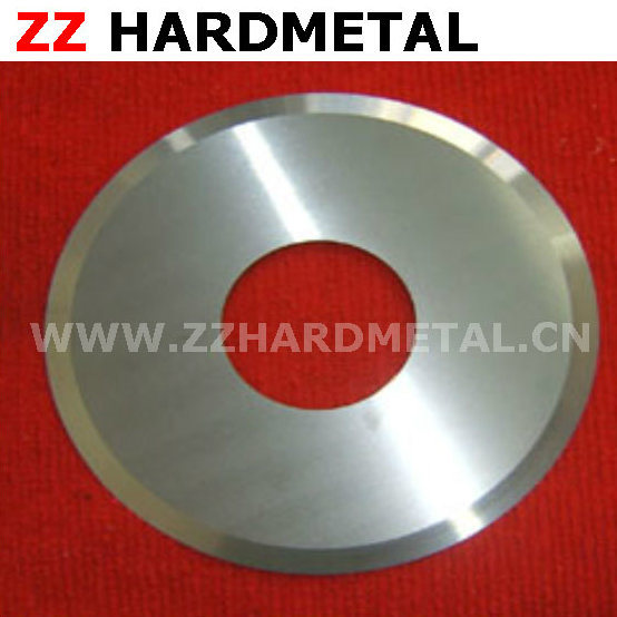 Cemented Carbide Rubber Ring Cutting Circular Slitting Knives