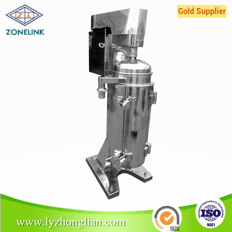 Gq105j High Quality Liquid Solid Separation Tubular Centrifuge