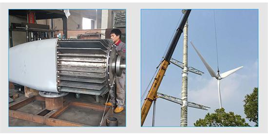 100kw High Efficiency Wind Generator for Sales Horizontal Axis Wind Power Turbine