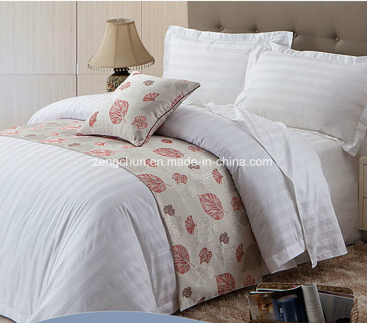 100% Cotton 3cm Stripe Bed Sheet Set