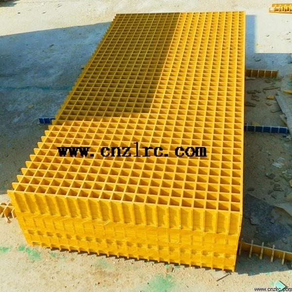 Factory Supply Fiberglass FRP GRP Grid/ Mesh Grid
