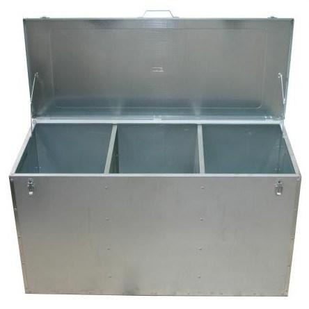 Sheet Metal Febrication Corn Bin Metal Container