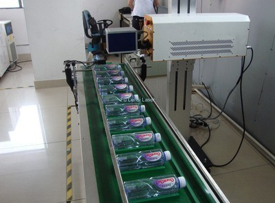 High Capacity Filling Line (15000bottles/hour) Date Laser Printing/Marking Machine