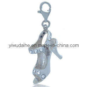 Alloy High Heeled Shoes Dangle Charm (185255
