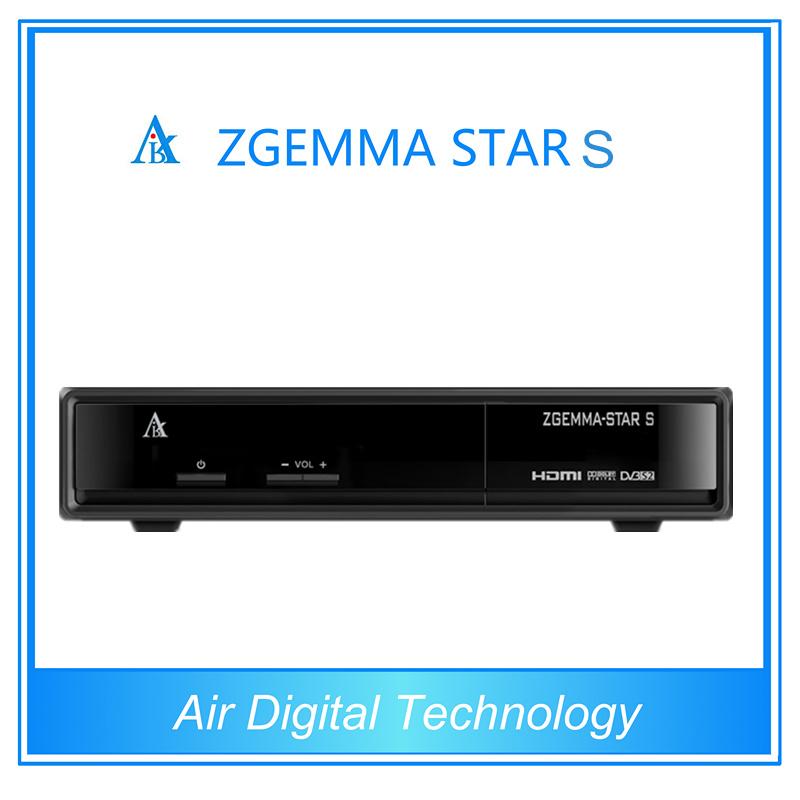 IPTV Linux Receiver Zgemma Star S Receiver Satellite Full HD Media Player 3D