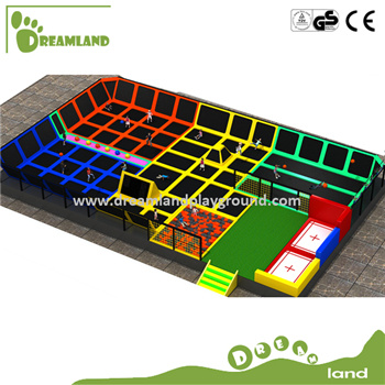 Designs and Manufacturers Modern, Top Quality Trampoline Park