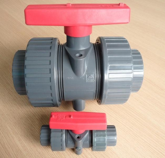 Pvc Water Valve : China plastic pvc gas water ball valve