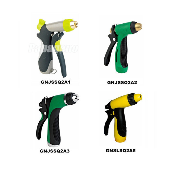 Plastic Garden Spray Gun with Adjustable Nozzle