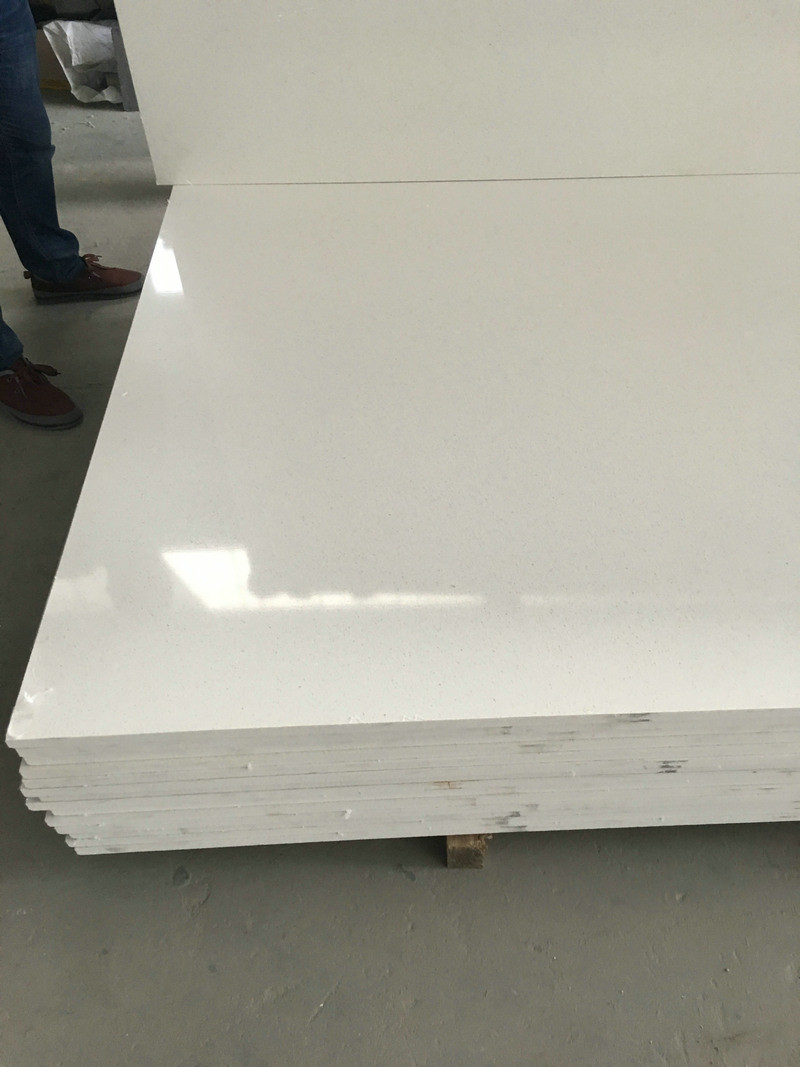 Pure White Artificial Marble Stone Snow White Artificial Marble