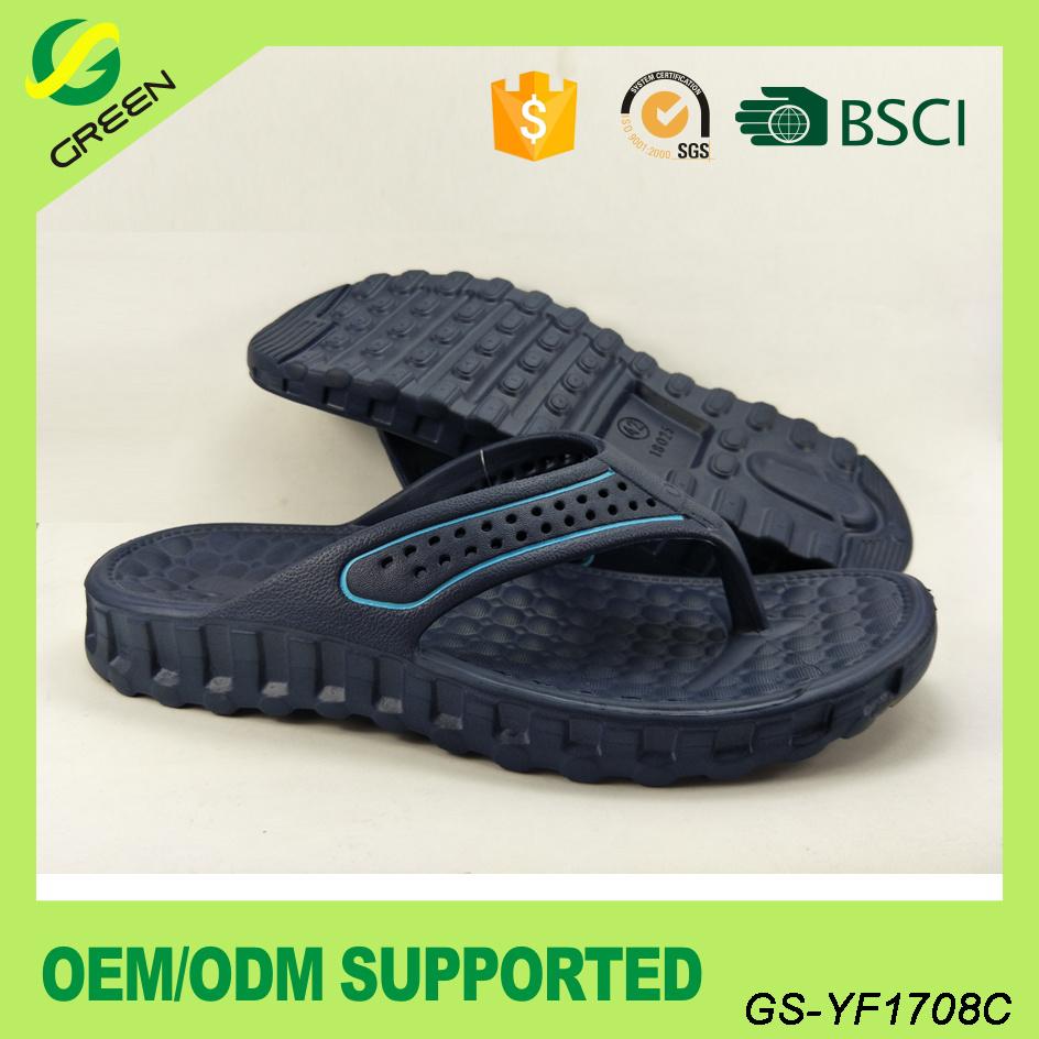 Men Casual EVA Slippers Comfortable EVA Beach Flip Flop (GS-YF1708)