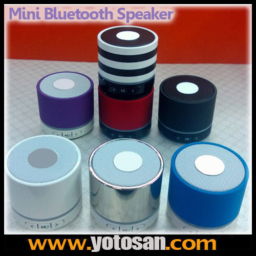 S11 Wireless Mini Bluetooth Speaker Hifi Music Player with Mic for iPhone 5 MP4 MP3 Tablet PC