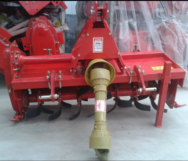 Tractor Tiller Product : China tractor mounted rotary tiller with side chain and