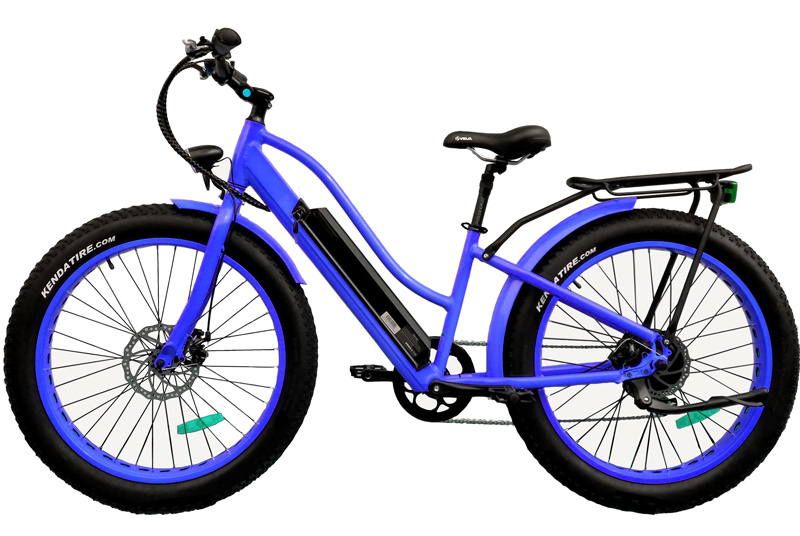 Fat Tire Mountain Electric Bicycle with 500W Bafang Motor