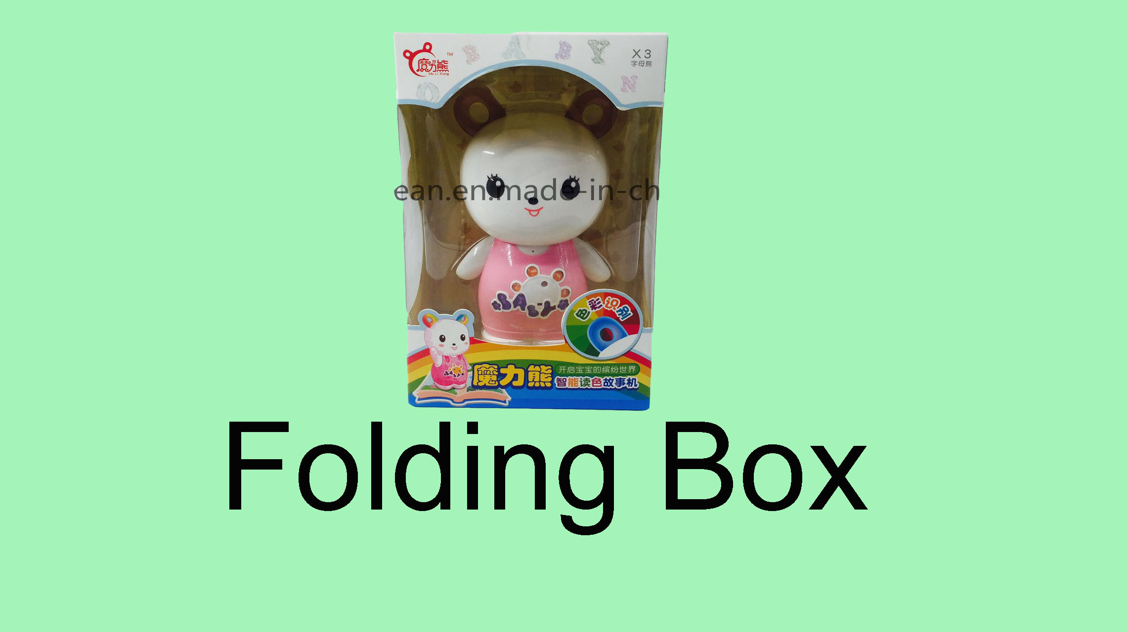 Clear Pet Blister Toys Packing