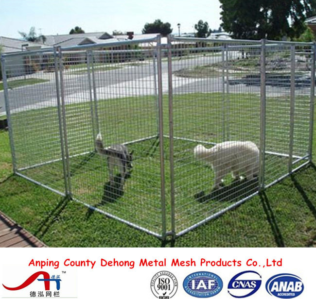 Powder Coated Dog Kennel, Dog Run, Dog Cage, Dog Fence for Sale