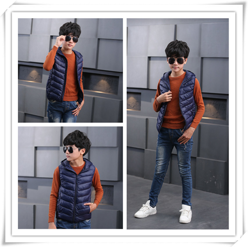 New Two Tone Children Down Jacket for Winter Garments 606